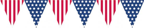 USA - Pennant Bunting